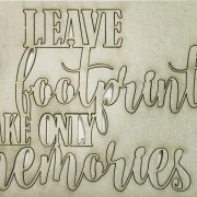 Leave Footprints