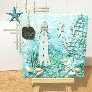 Mini Seaside Canvas Kit